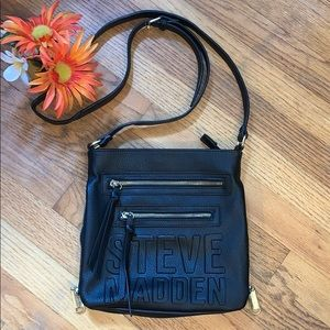 Steve Madden Black Crossbody Bag